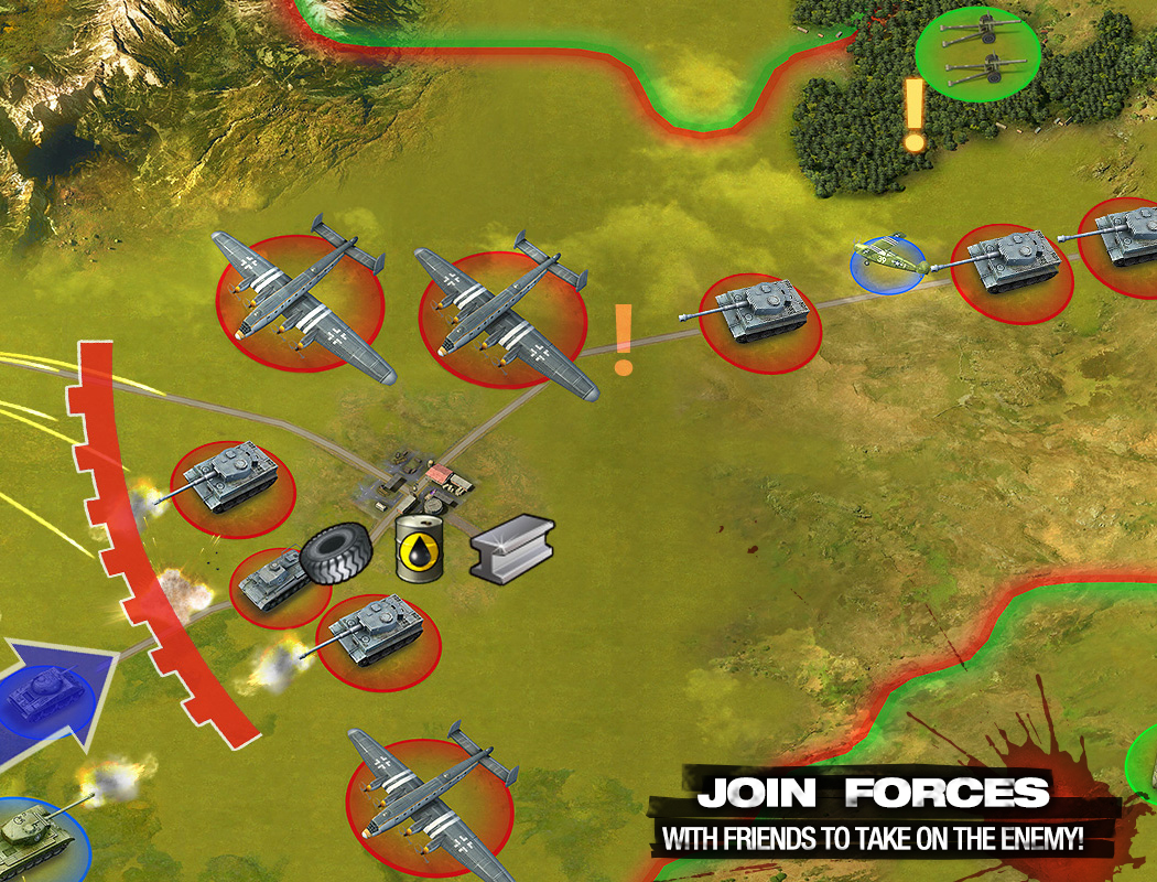 Join forces with friends to take on the enemy!
